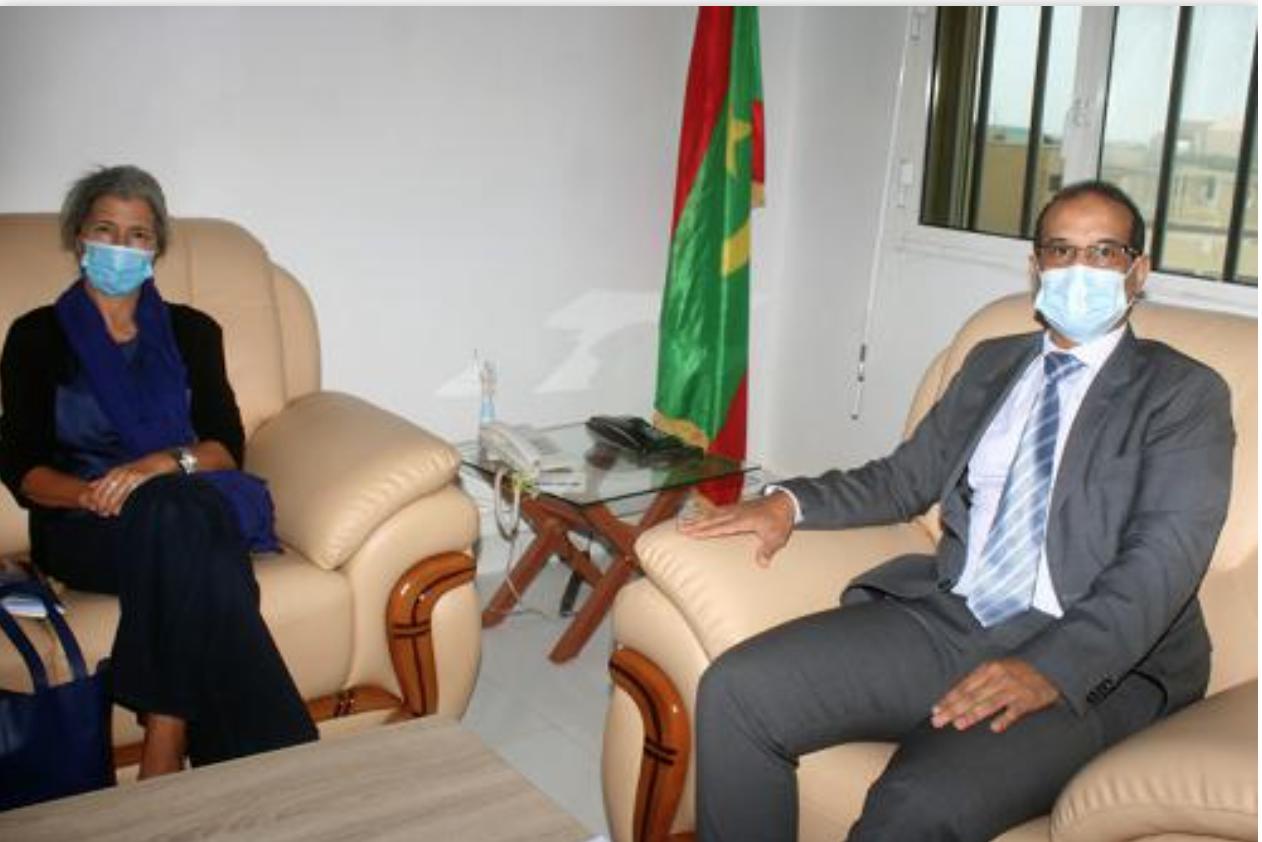 Le commissaire aux droits de l'Homme reçoit la représentante du HCR