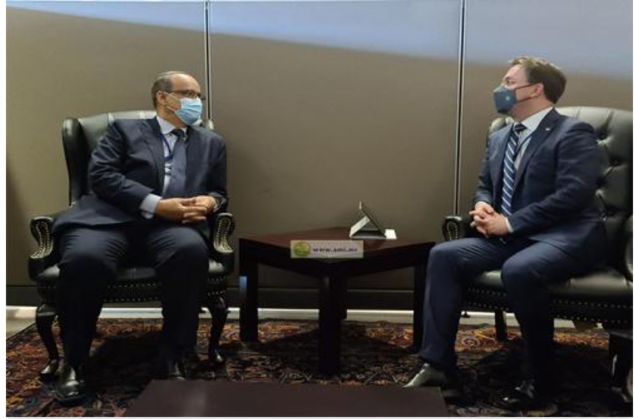 Le ministre des Affaires étrangères rencontre son homologue serbe