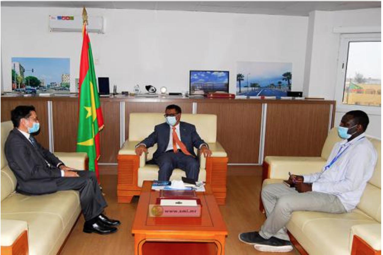 Le ministre du Pétrole reçoit le représentant de la FAO