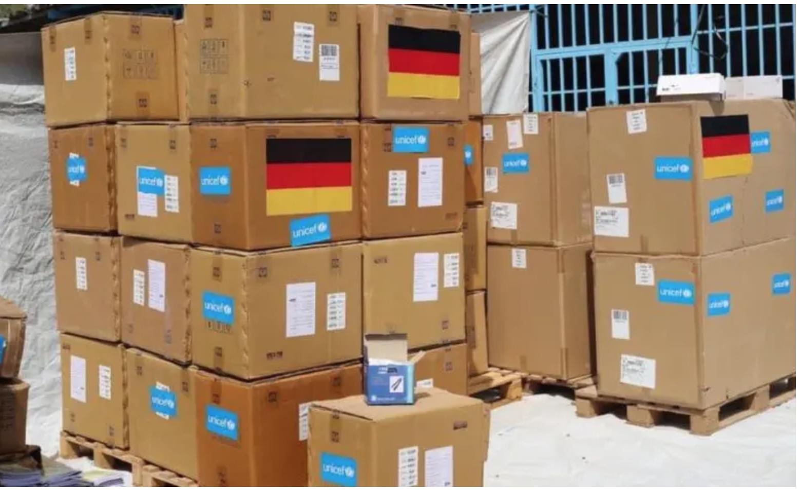 Une aide médicale offerte par l'UNICEF à la Mauritanie