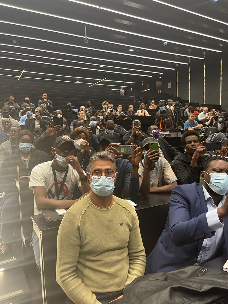 Paris - Sorbonne : allocation du député Biram Dah Abeid