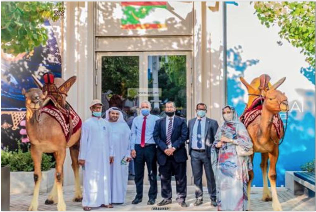 Participation de la Mauritanie à la semaine du climat et de la biodiversité de l'Expo Dubaï 2020