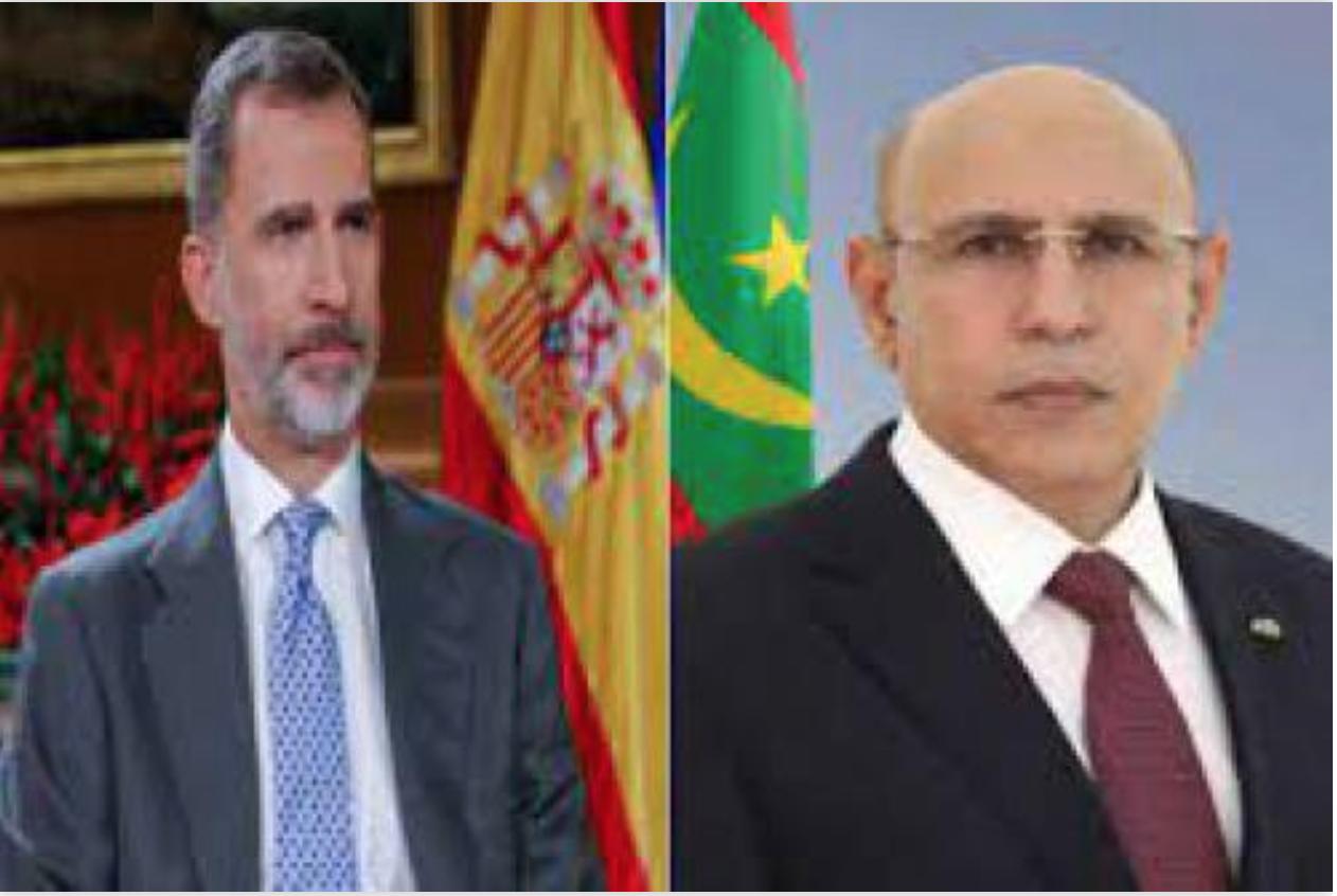Le Président de la République félicite le Roi d'Espagne