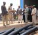 Le Président de la République visite l'usine de production des tuyaux à Kiffa relevant du génie militaire