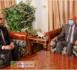 Le Président de la République reçoit une copie du dossier de candidature du Président de la FFRIM à la présidence de la CAF