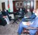 Le ministre de la justice s'entretient avec l'ambassadeur chef de la délégation de l'UE
