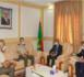 Le ministre de la Défense s'entretient avec le président de la commission mixte mauritano-espagnole de coopération