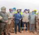 Une mission de l'UE visite le chantier de la base militaire mauritanienne de la force G5 Sahel