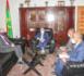 Le ministre de la Justice reçoit l'ambassadeur britannique