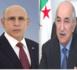 Le Président de la République reçoit un appel téléphonique de son homologue algérien