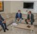 Le ministre de l'Emploi reçoit le chef de la délégation de l'UE