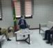 Le ministre des Affaires économiques reçoit le chef de délégation de l'Union européenne