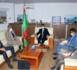 Le ministre du pétrole reçoit le Chef de la Délégation de l'UE
