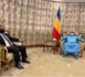 Le président tchadien reçoit le président de l'Union nationale du patronat mauritanien