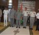 Trois officiers français décorés à la fin de leur mission en Mauritanie