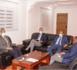 Le ministre de l'élevage reçoit un directeur de la Banque Mondiale