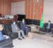 Le ministre de l'Intérieur et de la Décentralisation reçoit le directeur régional de l'OIM