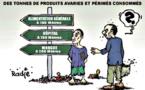 Zouerate : incinération de produits périmés
