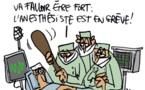 Sit-in des médecins au chômage devant le ministère de la santé