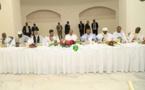 Le Président de la République reçoit un certain nombre de leaders des partis politiques et de la société civile