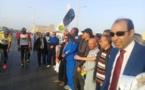 Coup d'envoi de la première édition du Tour cycliste à Nouadhibou