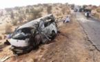 Deux blessées graves après le renversement d'un véhicule sur la route Nouakchott-Rosso