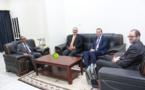 Le ministre délégué chargé du Budget reçoit une mission de Banque mondiale