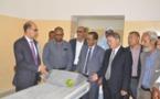Le secrétaire général du ministère de la Santé visite les travaux en cours pour la réhabilitation de l'hôpital de l'Amitié à Arafat