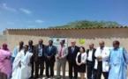 Inauguration du projet d'amélioration de l'hygiène et de l'assainissement du centre de santé de Sabkha