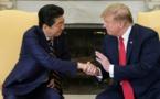 Traitement impérial pour Trump lors de sa visite au Japon