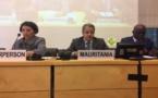 Le Commissaire aux droits de l'homme passe en revue devant la 126eme session de la commission des droits de l'homme relevant des Nations Unies les efforts déployés par la Mauritanie