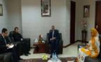 Le ministre des Affaires étrangères s'entretient avec le chargé d'affaires de l'ambassade de Chine