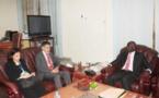 Le ministre de l'intérieur s'entretient avec le directeur régional de l'Office de l'ONU contre la drogue et le crime