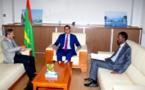 Le ministre du pétrole et de l'énergie reçoit l'ambassadeur de Chine