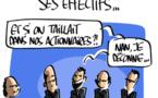 Une délégation du patronat se rend en France