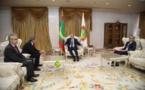 Le Président de la République reçoit l'envoyé spécial français pour le Sahel