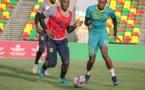 Les Mourabitounes en regroupement avant le match amical contre la Libye