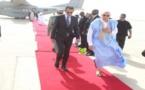Retour du Président de la République à Nouakchott