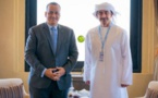 Le ministre des Affaires étrangères s'entretient avec son homologue émirati
