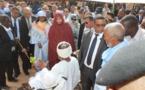 La première Dame supervise à Toujounine l'inauguration d'un nouveau siège pour la Fédération des Associations nationales de personnes handicapées