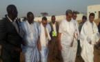 Le ministre du Développement rural visite la station de pompage de la ferme Nkeik et du marché de bétail d'Ankek à Rosso