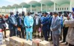 Le ministre des Affaires islamiques réceptionne un premier de matériel stérilisé