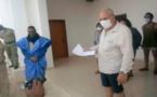 Le wali du Tagant supervise la libération de cinq touristes et d'un guide sortis de la quatorzaine