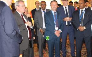 Réception à l'ambassade de France en l'honneur de la mission de l'ONU près le G5 Sahel