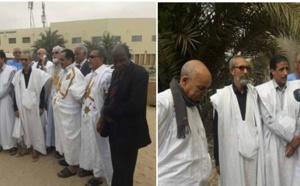 Les dirigeants du FNDU devant la prison civile