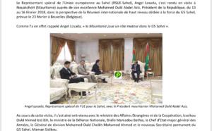 Sécurité et développement en Mauritanie : Le RSUE - Sahel Angel Losada sur le terrain, au plus près de la population ( photos )