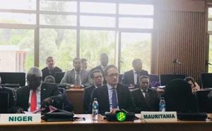 Le ministre des affaires étrangères prononce un discours devant le comité de haut niveau sur la Libye