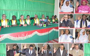 Prestation de serment des membres du comité directeur de la CENI