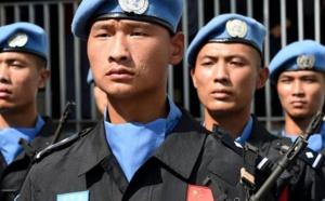 Des soldats chinois au Mali pour le maintien de la paix