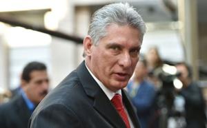 Le Président de la République félicite le président élu de la République de Cuba